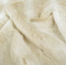 Luxury Artic Fox Fur Fabric 148cm Wide x 0.5m